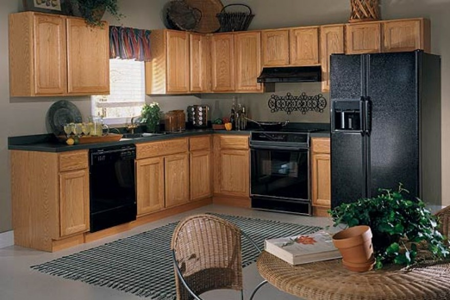 Kitchen Paint Ideas With Light Oak Cabinets