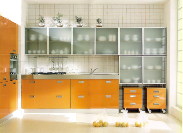 simple glass kitchen cabinet doors