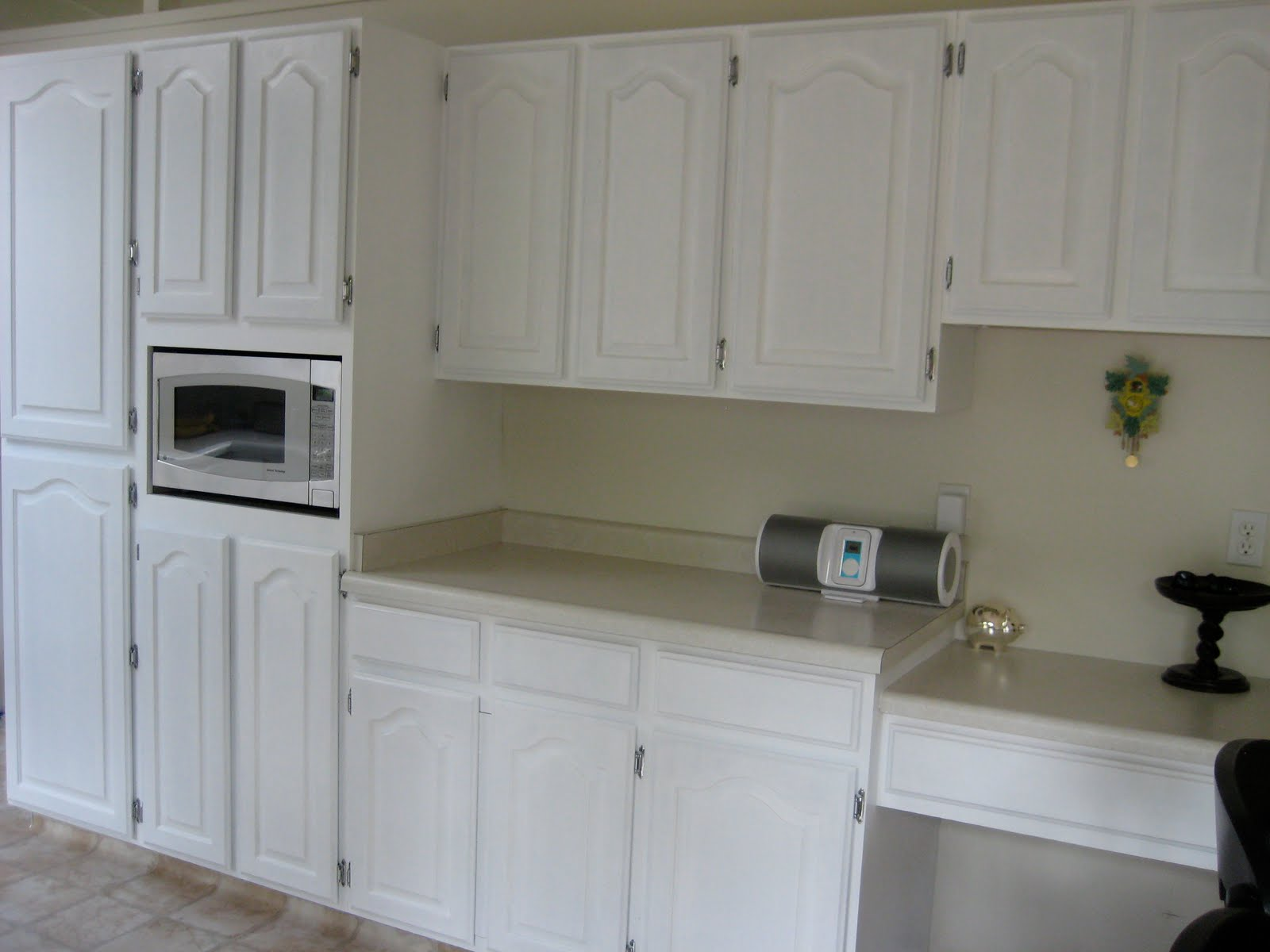 Milk Paint Kitchen Cabinets Design