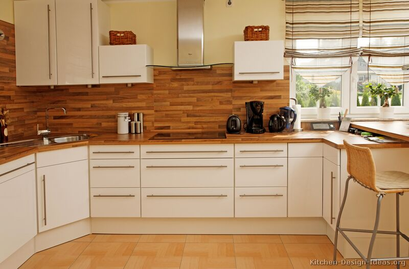 White Kitchen Cabinets In Modern Styles