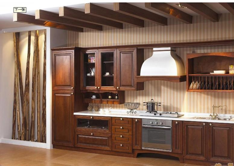 Wood Kitchen Cabinets With Many Advantage