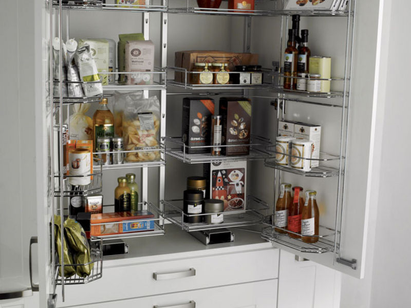 Beauty Kitchen Storage Solutions For Small Space