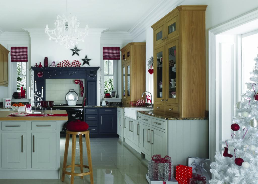 Christmas kitchen Beautiful