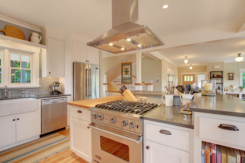 Seattle Kitchen Remodels by RW Anderson