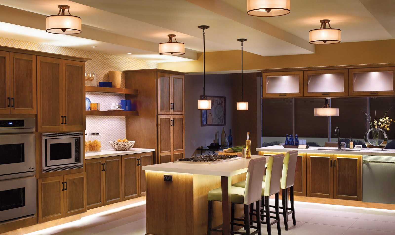 Elegant Kitchen Lighting Ideas for Modern Kitchen